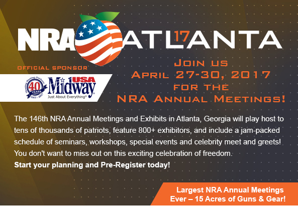 Join us in Atlanta from April 27-30 for the NRA Annual Meetings!