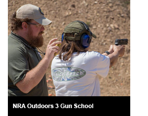 NRA Outdoors 3 Gun School